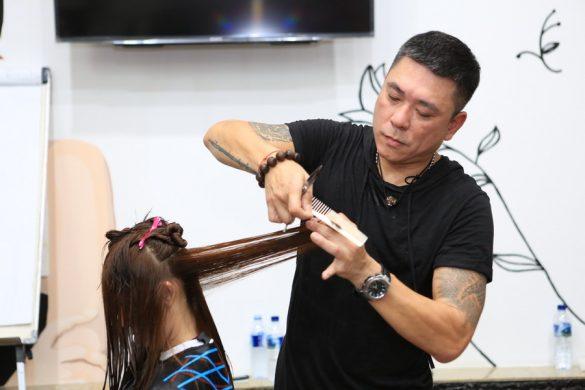 Belajar Teknik Permanent Blow Bersama  Master Helon dan  Mr. Simon Kim
