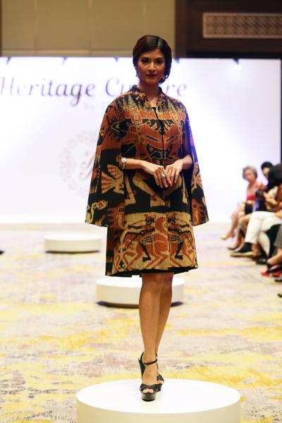 Peringati Hari Kartini, Tina Andrean Meriahkan Budaya Batik Pusaka