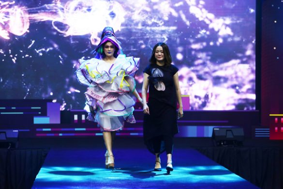 Karya Spektakuler Marina Adia Indra di Panggung Opening Grandeur IBE 2019