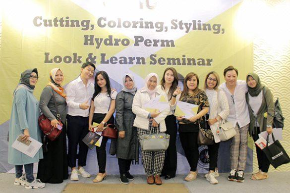 Gelaran Look & Learn Seminar Bersama Juno Academy, Korea Selatan